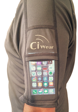 Ci Wear shirt smartphones